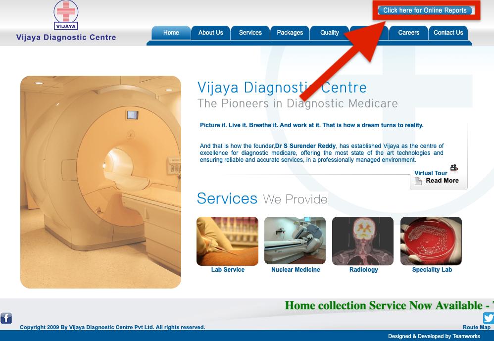 vijaya diagnostics himayatnagar price list